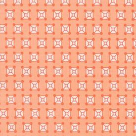 EH / Rhoda Ruth -  Squares /  Orange