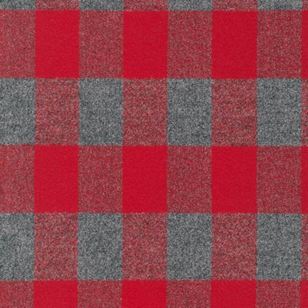 RK - Mammoth Flannel / Plaid Check / Red / 15599-3