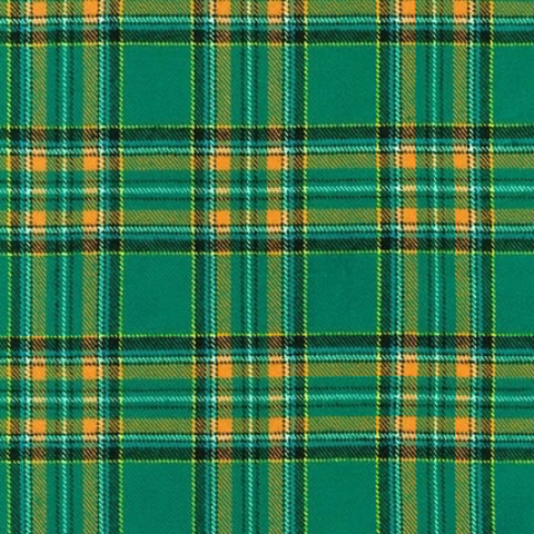 RK - Highlander Flannel / Plaid / Green / 16938-7