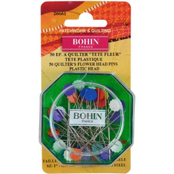 Bohin - 50 Pins / Flower Head