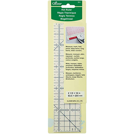Clover - Hot Ruler 2.5x10 inch