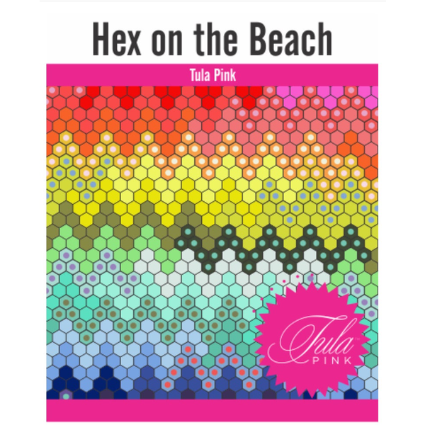 Tula Hex on the Beach - Pattern & Complete Paper Piece Kit