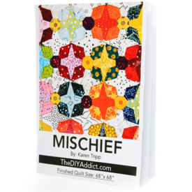 Mischief Quilt - Paper Piecing Kit with Templates