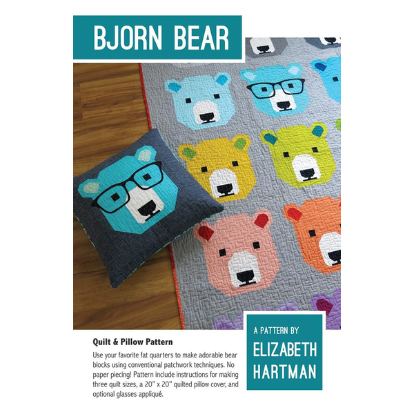 Elizabeth Hartman Pattern / Bjorn Bear