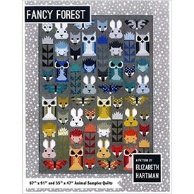 Elizabeth Hartman Pattern / Fancy Forest