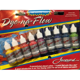 Jacquard / Fabric Dye Kit - Dye-Na-Flow (9pc)