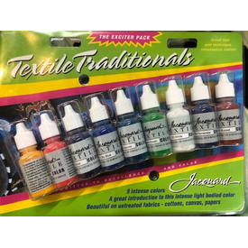 Jacquard / Fabric Dye Kit - Textile Traditionals (9pc)