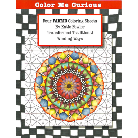Katie Fowler - Fabric Coloring Sheets (4 pack)