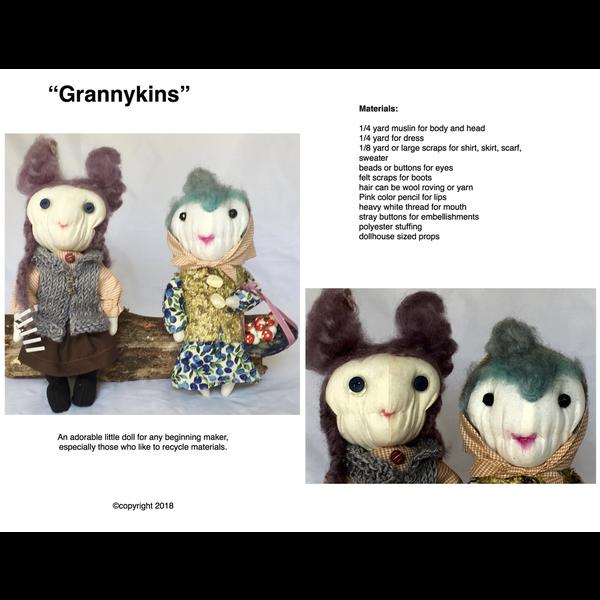 Alexandra Von Burg  - Pattern / Grannykins Doll