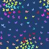 Andover - Rainbow Sprinkles / Butterfly / Blue / A-9425-B