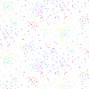 Andover - Rainbow Sprinkles / Hearts & Stars / White / A-9430-L