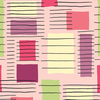 Contempo - Printology / Blocks / Pink / 07530-26