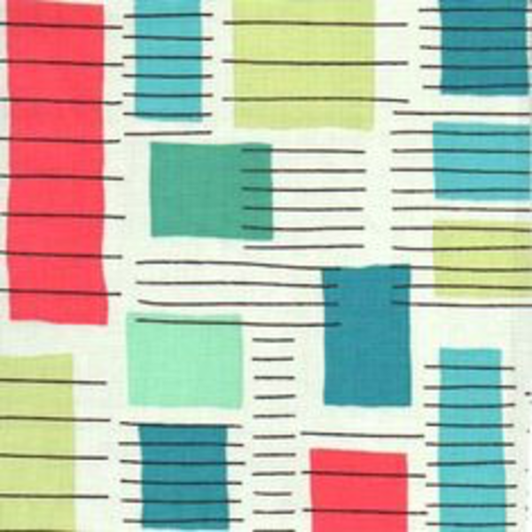 Contempo - Printology / Blocks / Green / 07530-08