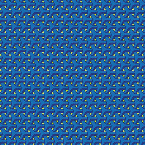 Contempo - Dot Crazy / Jax / Blue / 6003-50