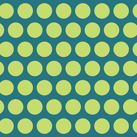 Contempo - Dot Crazy / Big Dots / Teal / 6007-54
