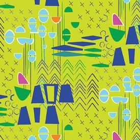 Contempo - Modern Marks / Green / 04660-42