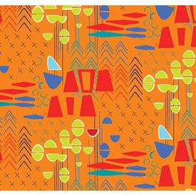 Contempo - Modern Marks / Orange / 04660-28