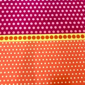 Contempo - Dot Crazy / Multi Dots / Orange