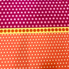 Contempo - Dot Crazy / Multi Dots / Orange