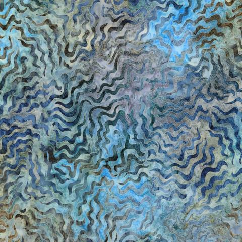 Robert Kaufman - Batik / Aqua Spa 3 / Terrain / 18652-169 Earth