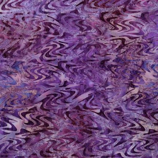 Robert Kaufman - Batik / Aqua Spa 3 / Abalone / 18650-18 Grape