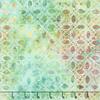Robert Kaufman - Batik / Fancy Feathers 3 / Petals / 19029-34 Sage