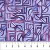 Banyan Batiks - Tapa Cloth Shapes / 80252-85 Purple