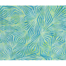 Banyan Batiks - Visual Sounds / Geometric Diamonds / Green / 80020-62