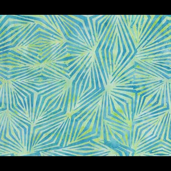 Banyan Batiks - Visual Sounds / Geometric Diamonds / Green / 80020-62