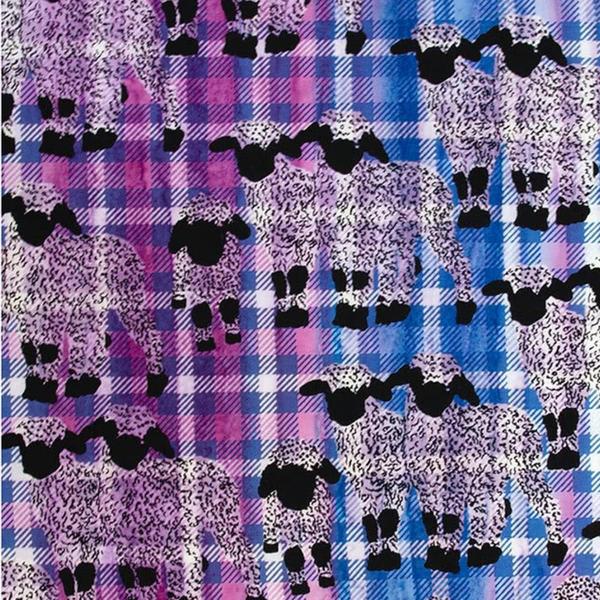Banyan Batiks - Kilt & Quilts / Sheep / Purple / 80399-28