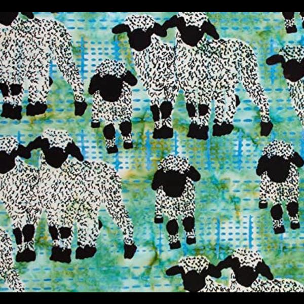 Banyan Batiks - Kilt & Quilts / Sheep / Green / 80399