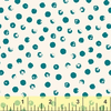 Windham - Clever Dots / Teal on White / 42675-9