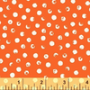 Windham - Clever Dots / White on Orange / 42675-7