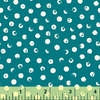 Windham - Clever Dots / White on Teal / 42675-2