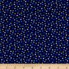 Robert Kaufman - Remix Mini Dots / Colors on Navy / 15237-11