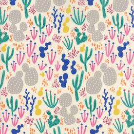 Moda Fabrics - Yucatan / Cactus / Pastel / 16710-11
