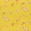 Moda Fabrics - Yucatan / Birds / Yellow / 16711-17