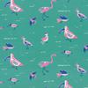 Moda Fabrics - Yucatan / Birds / Teal / 16711-19