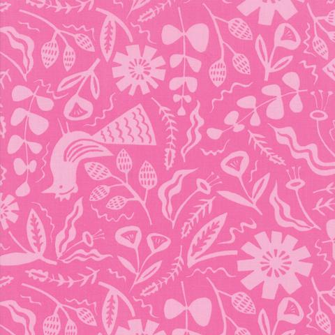 Moda Fabrics - Yucatan / Jungle / Pink / 16712-15