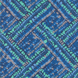 Moda Fabrics - Botanica / Colorful Dash / Royal Blue / 11844-15