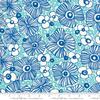 Moda Fabrics - Botanica / Hawaiian Flower / White / 11842-13