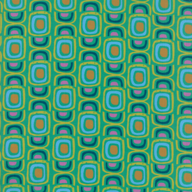 Moda Fabrics - Growing Beautiful / Geometric / Green / 11833-13