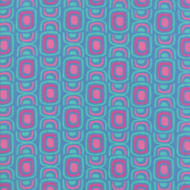 Moda Fabrics - Growing Beautiful / Geometric / Blue / 11833-14