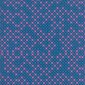 Moda Fabrics - Growing Beautiful / Check Grid / Blue / 11837-12