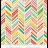 Moda Fabrics - Painted Garden / Chevrons / 11813-11