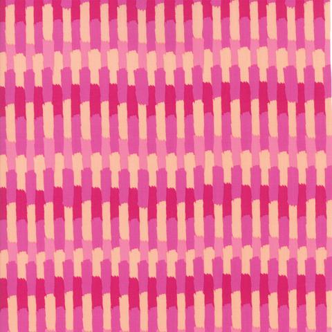 Moda Fabrics - Painted Garden / Stripe / Pink / 11814-13