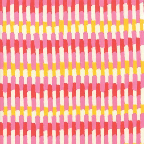 Moda Fabrics - Painted Garden / Stripe / Yellow / 11814-11