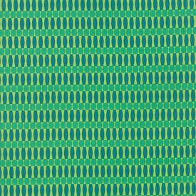 Moda Fabrics - Painted Garden / Patchwork Stripe / Green / 11815-20