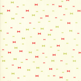 Moda Fabrics - Clover Hollow / Bow / White / 37554-11