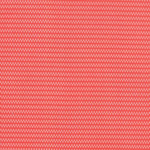 Moda Fabrics - Clover Hollow / Loop De Loop / Red / 37556-18